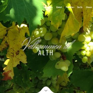 Alth: Website og identitet